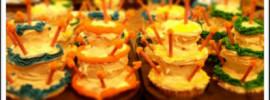 Towering Cupcakes