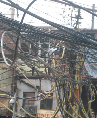 Power Pole in India