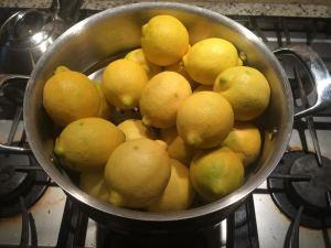 lemons to steam