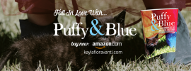 Puffy & Blue on Kindle Countdown Deal
