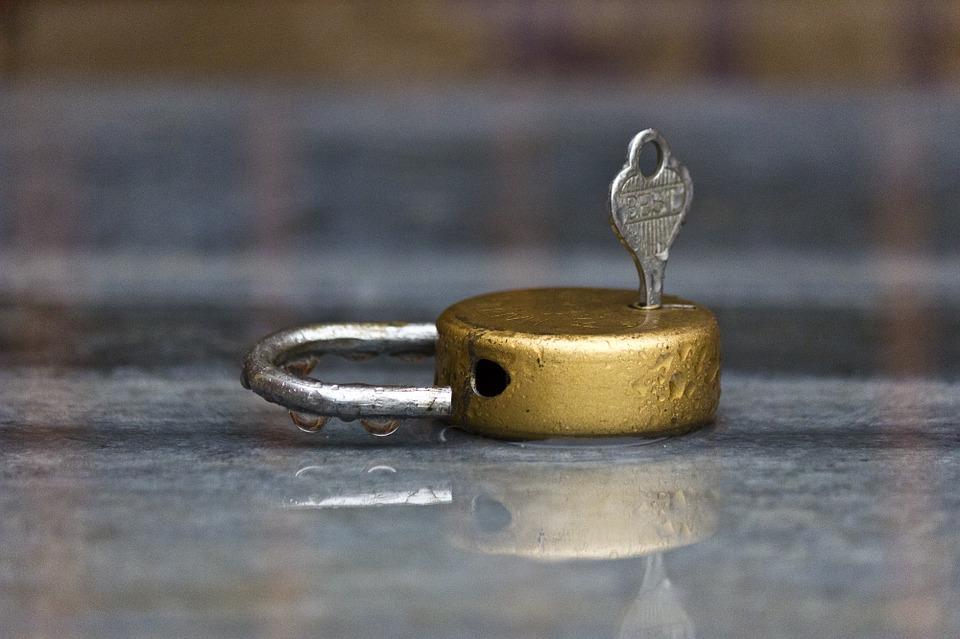 habit of locking doors